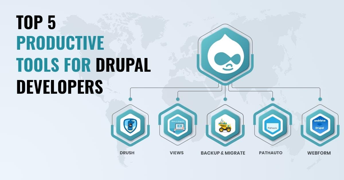 5 Tools Drupal Developer