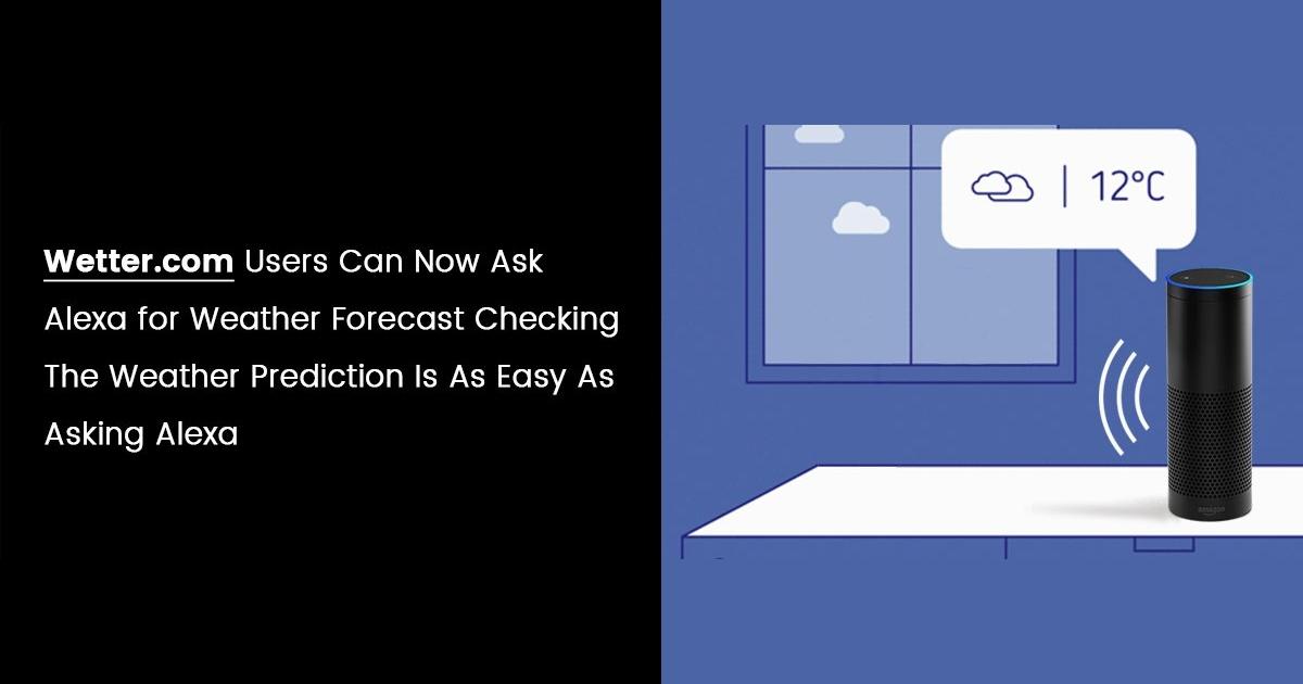 Best Alexa Weather App Solution