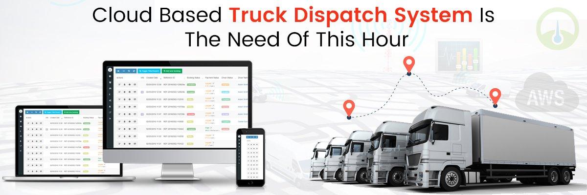 Best Cloud based dispatch Software development trucks