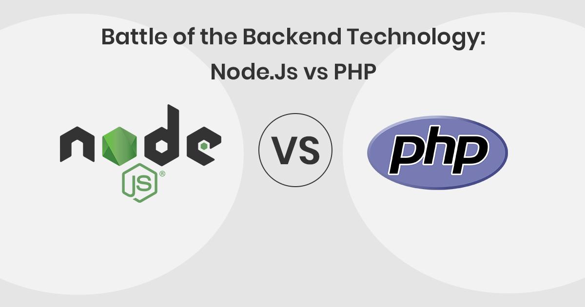 Comparing Node.js vs PHP Performance