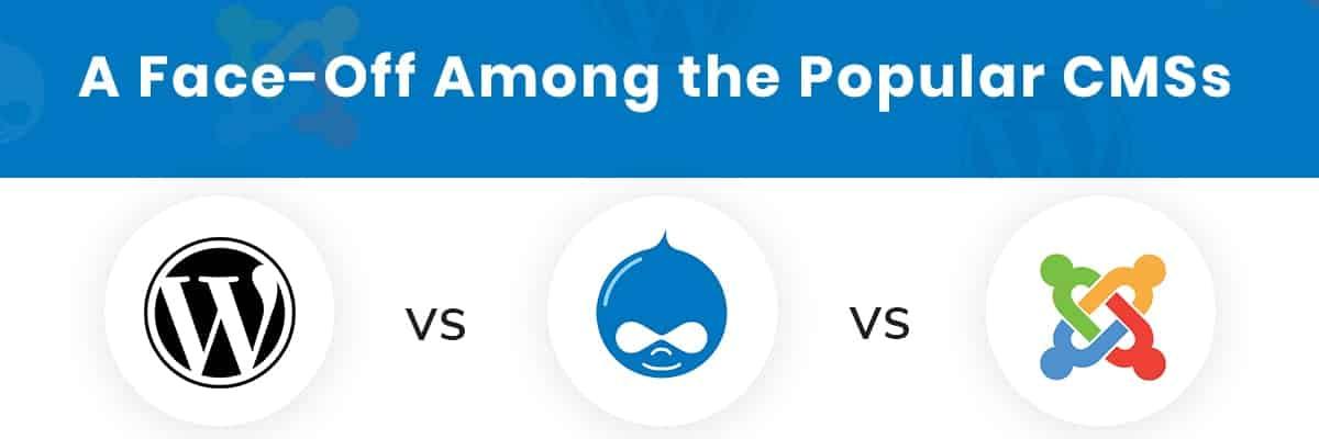 Drupal Versus Wordpress versus joomla