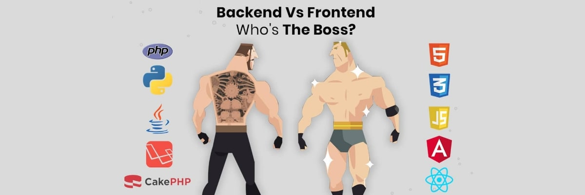 Difference Between Frontend vs Backend