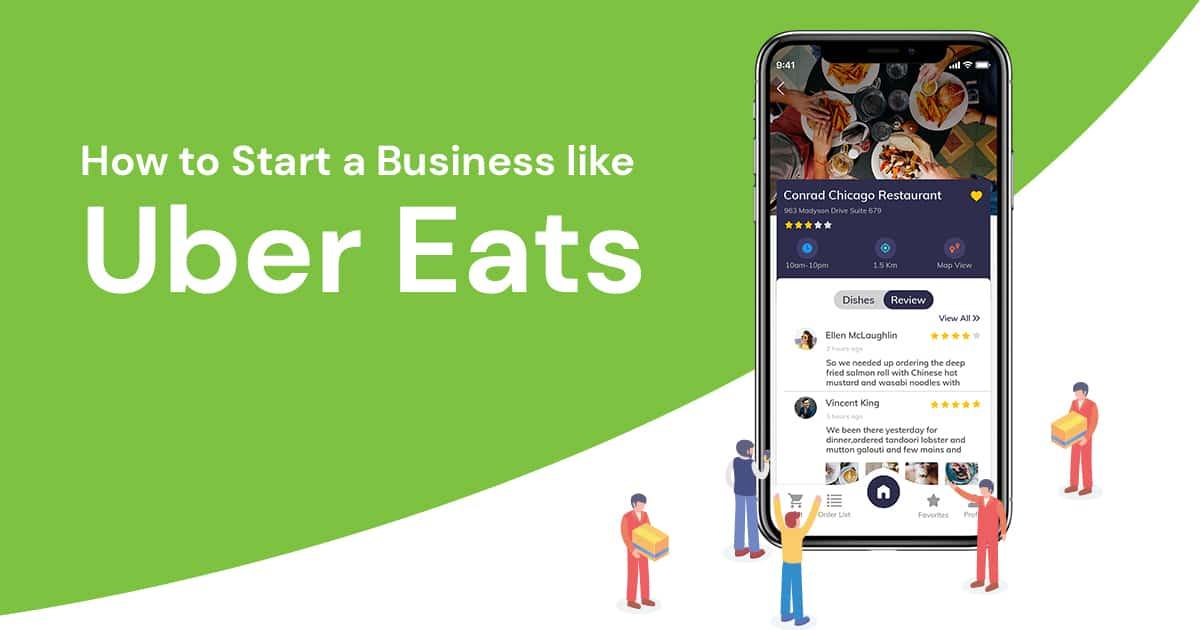 Best On Demand Apps like Uber Eats