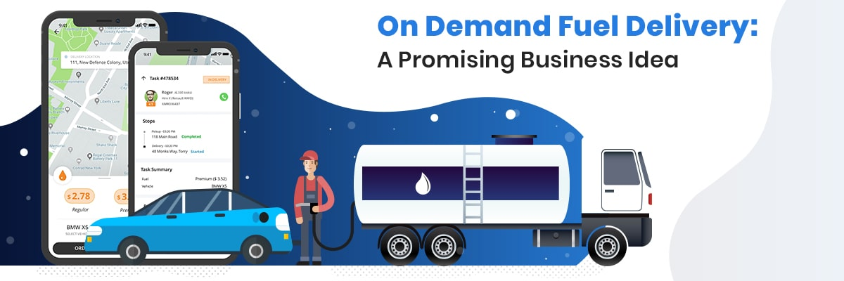 Start On Demand Fuel Delivery Service