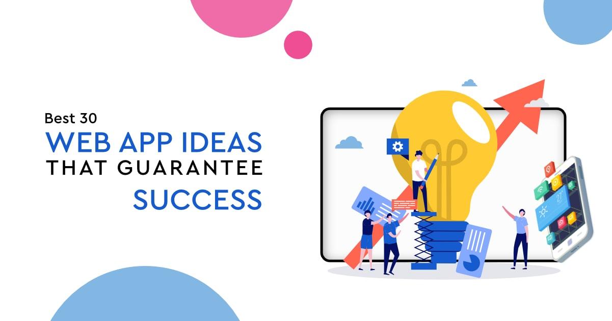 best web application ideas