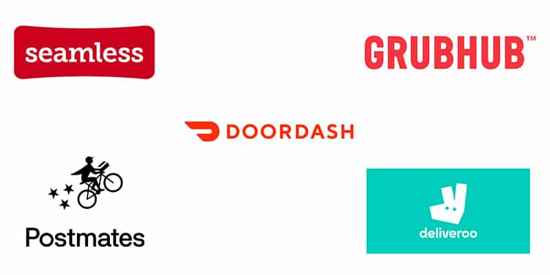 top food delivery logo