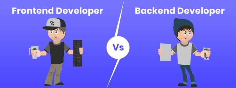Frontend Developer vs Backend Developer