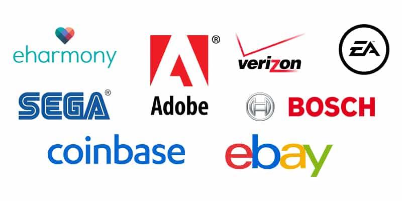 Top Companies using Mongodb