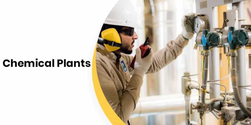 Smart Helmet for Chemical Plants