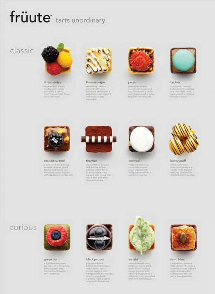 minimalist menu ideas