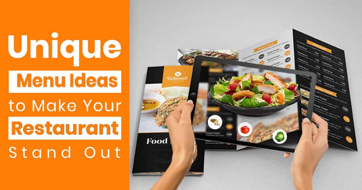 Best Top Restaurant Menu Ideas