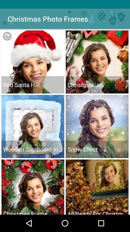 Christmas Photo Frame App