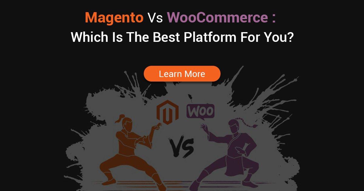 Best Platform Magento vs Woocommerce