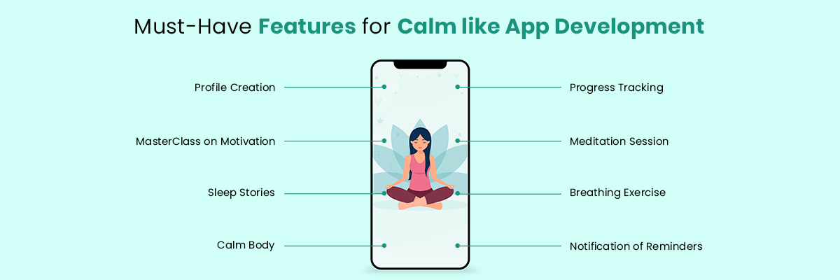 Features Calm like App