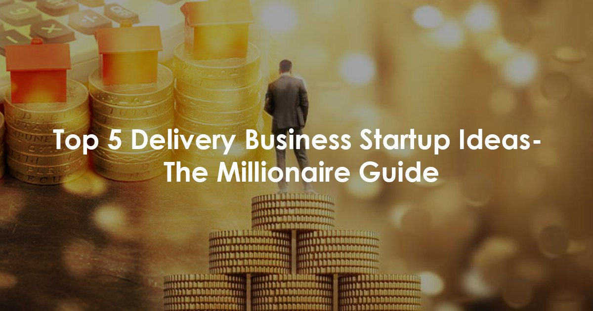Start a delivery business startup