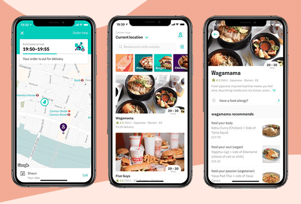Food deliver app like deliveroo