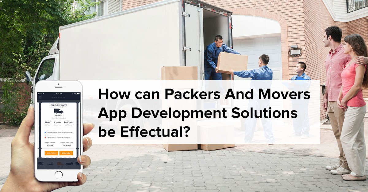 Packers Movers App Development