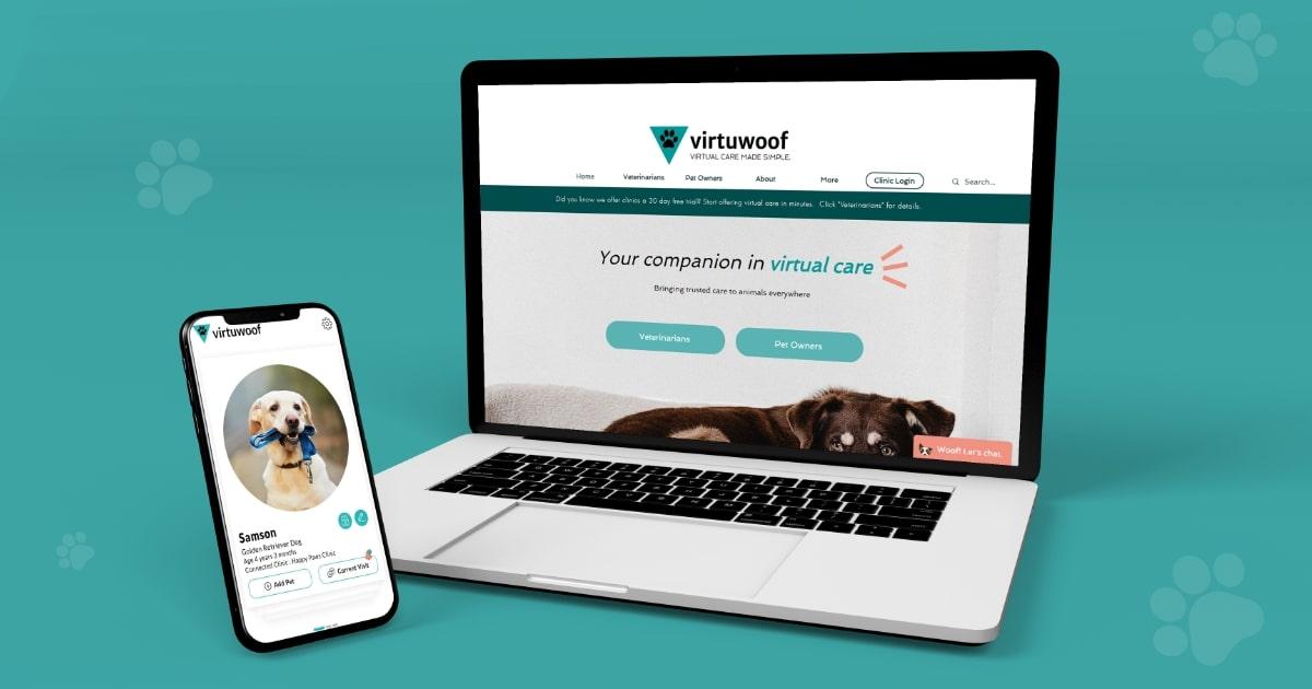 Veterinary Telemedicine app for vet & pet