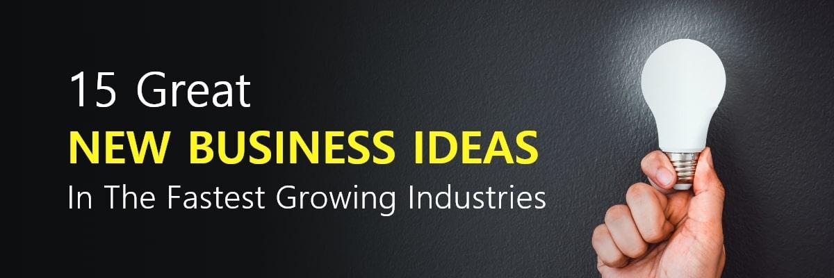15 Best Business Ideas