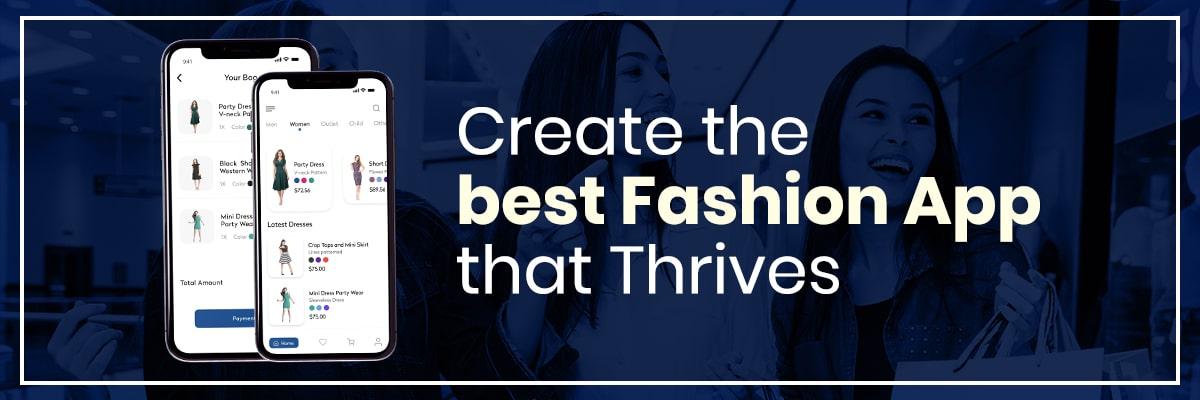 Build a Fashion App