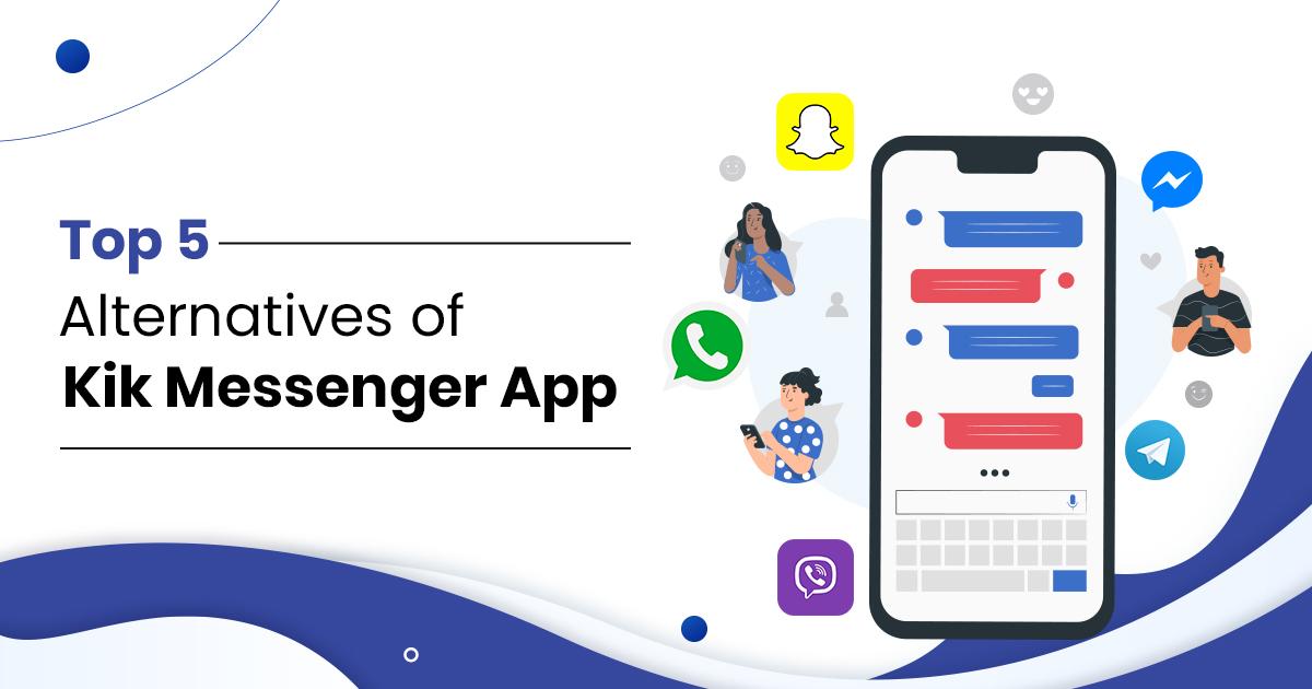 Alternatives of kik messenger app
