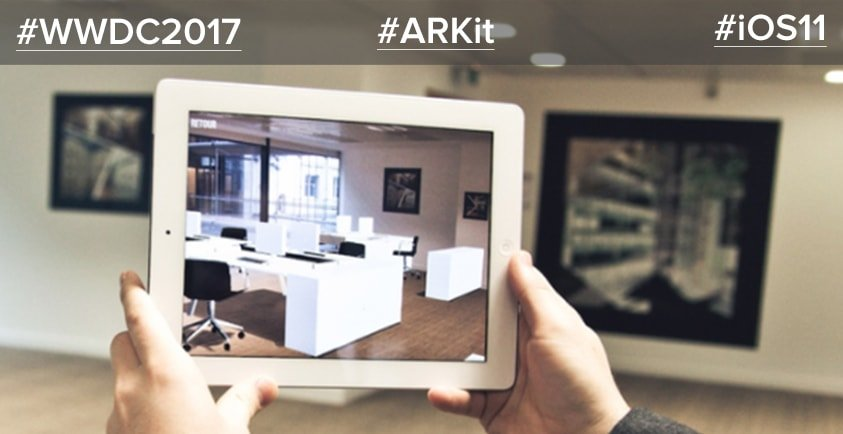 business using ARKit for iOS11