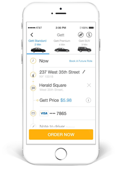 Types Of On-Demand Transportation Apps