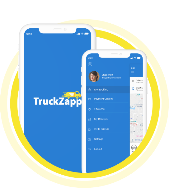 Transport App for Truck Booking