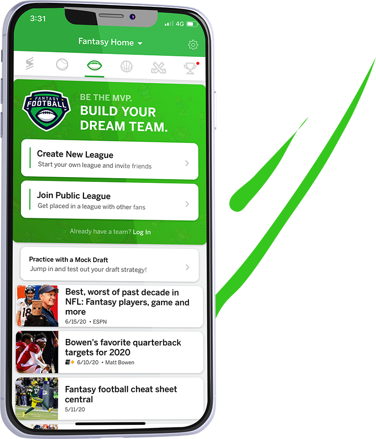 espn fantasy football app work