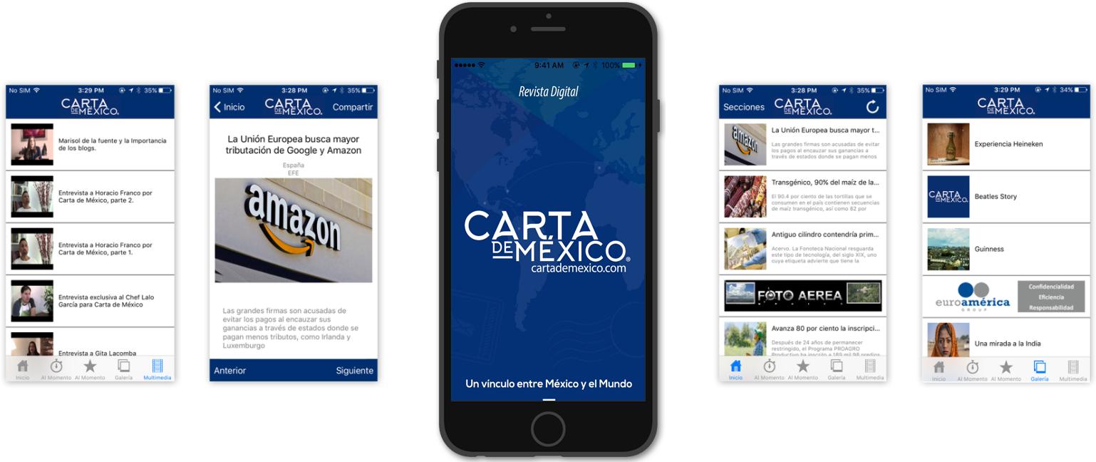 mexico magazine app development