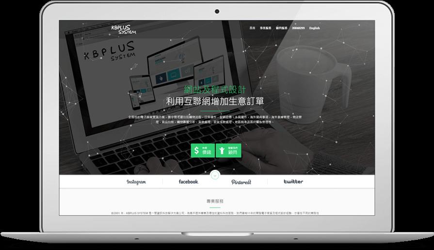 it company & consultant website development