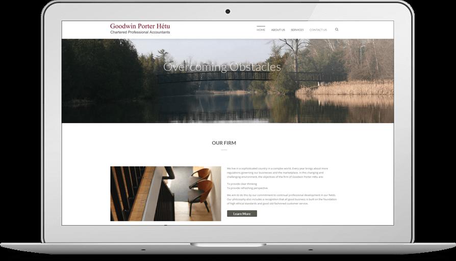 best wordPress Design for accountants