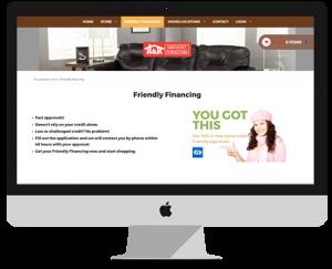 Furniture Shop Website Design Features