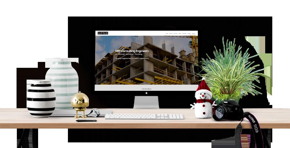 Best Engineering Company Website Design