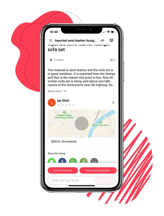 what makes buy and sell app like letgo popular