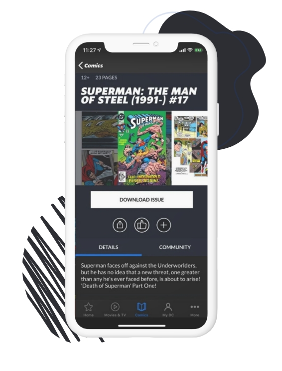 Features of DC Universe App