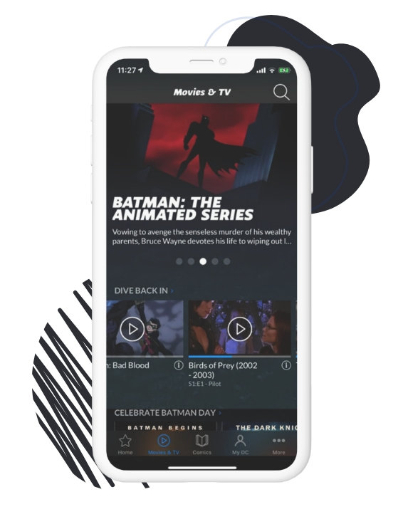 what is the DC universe app