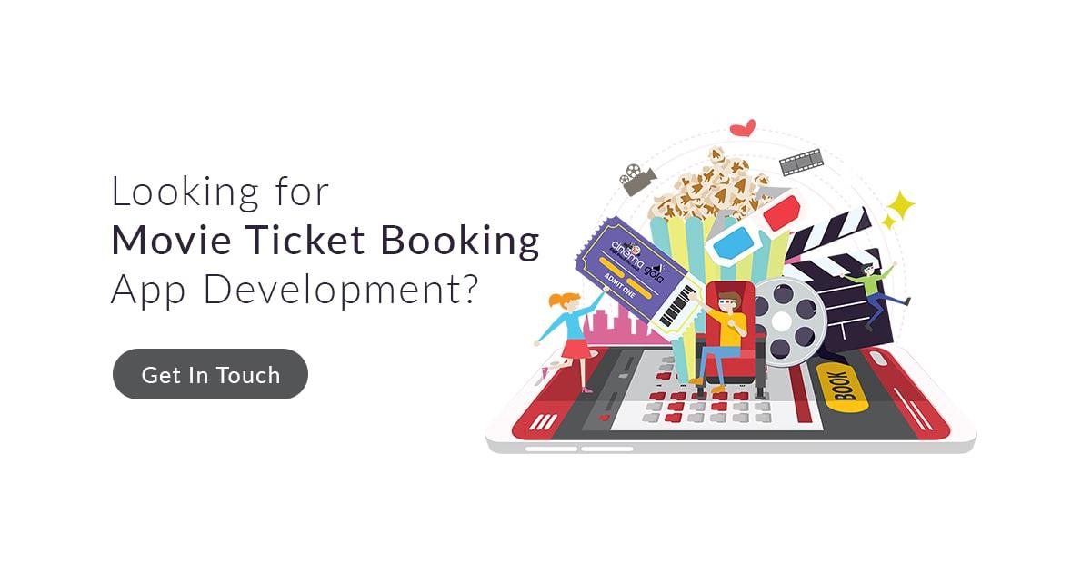 Best Movie Ticket Booking App Development