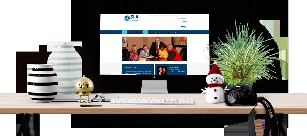 best financial website design and development