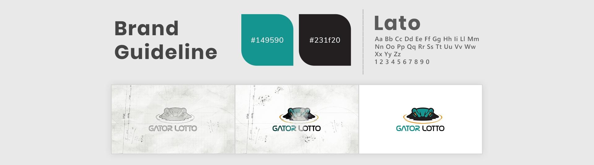 Gatorlotto Typography