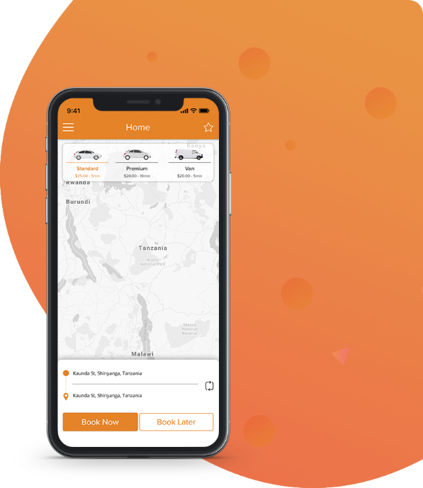 Leading Taxi Booking App