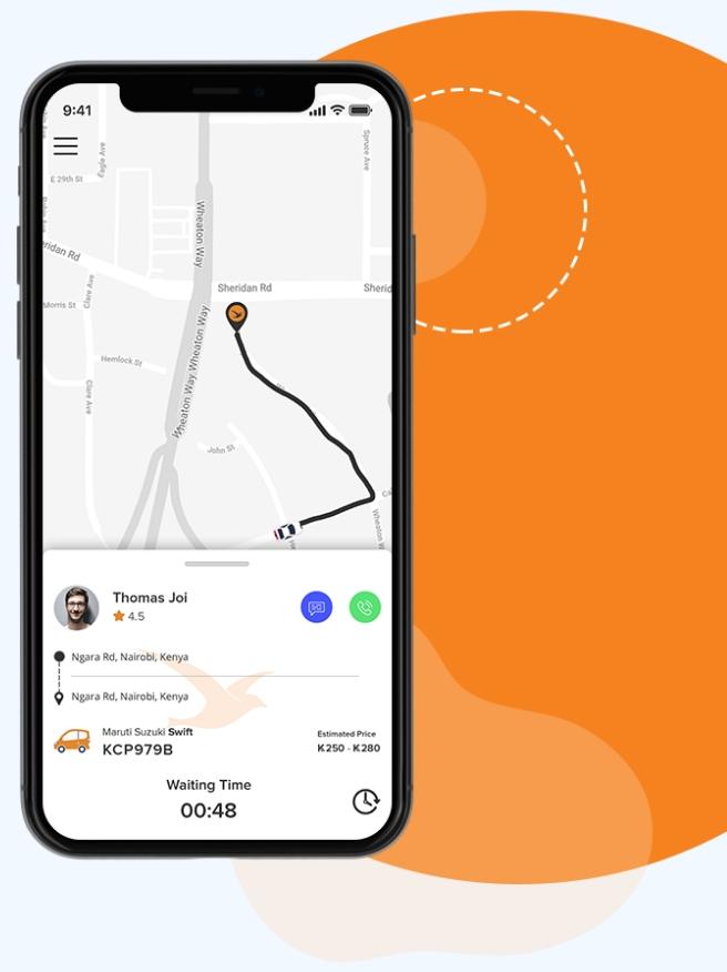 A taxi app in kenya a unique one
