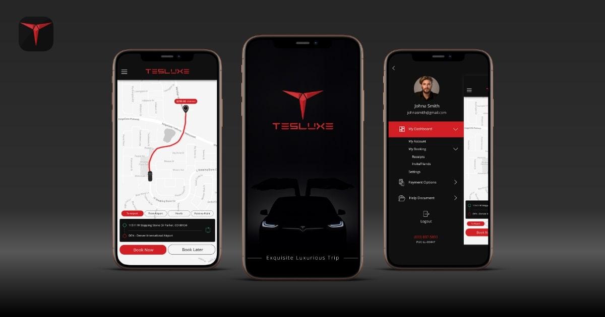 Luxury Car Rental App like Tesluxe