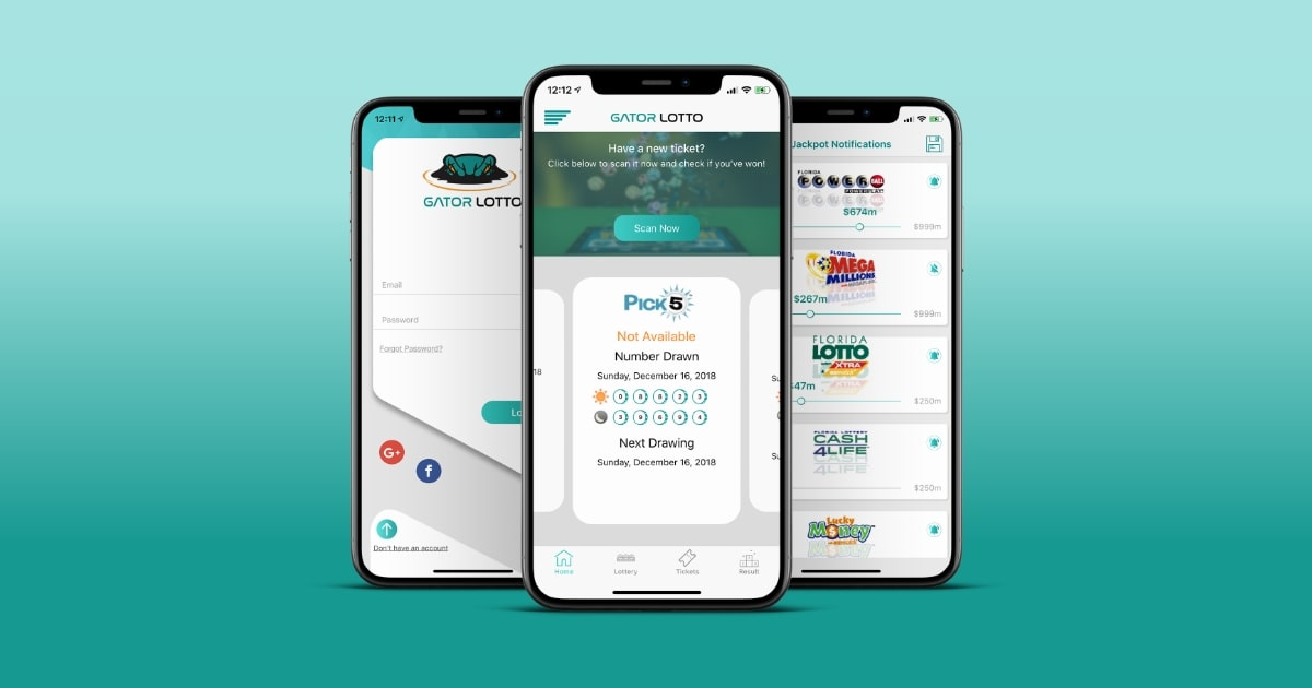 Lottery Management App