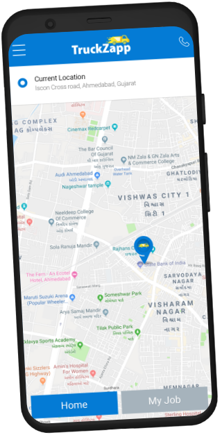 Customer App Screen three
