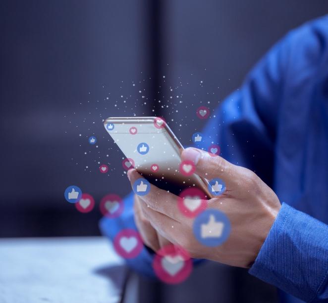 best social media application development