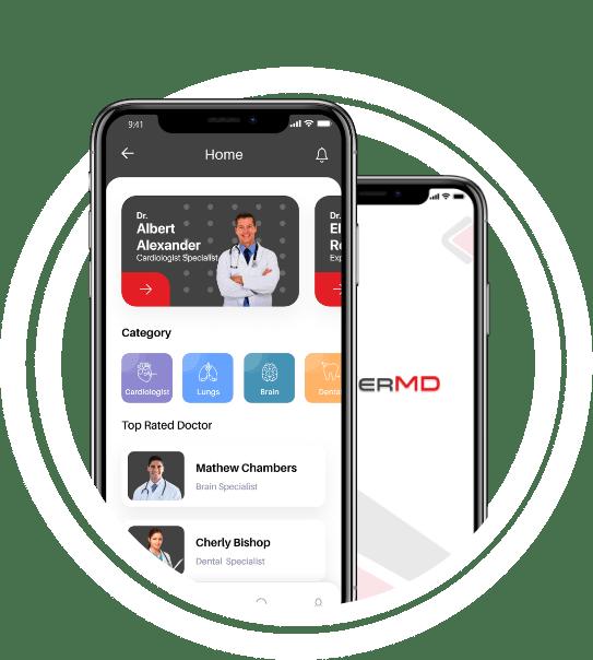 telemedicine app for patients doctors