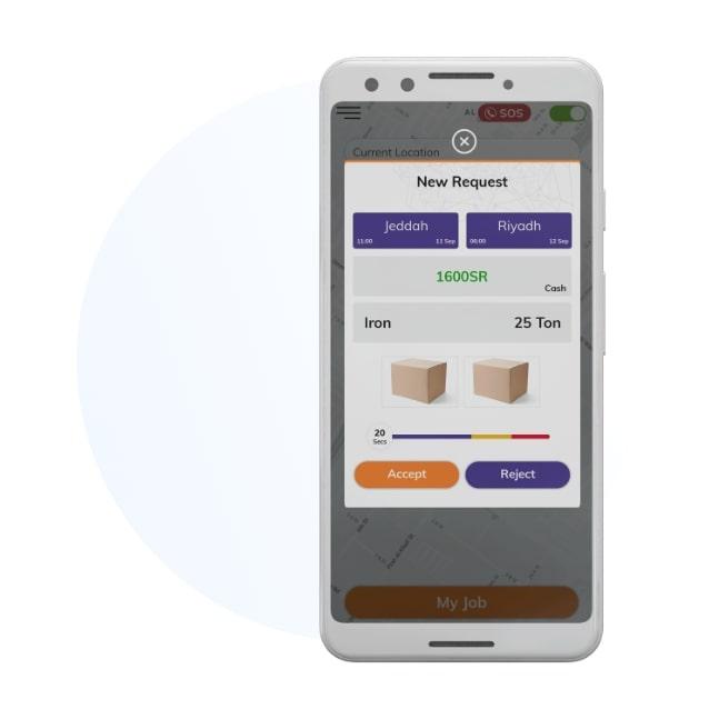 develop app for transportation