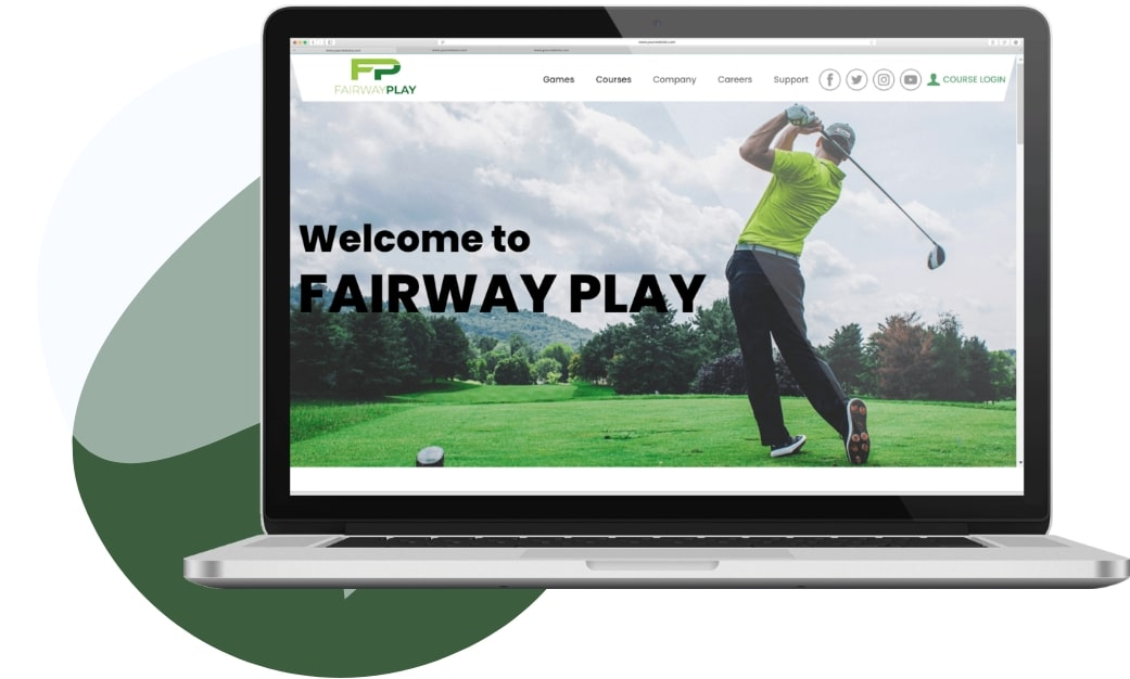 build your own golf website