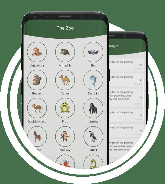 built a golf mobile app